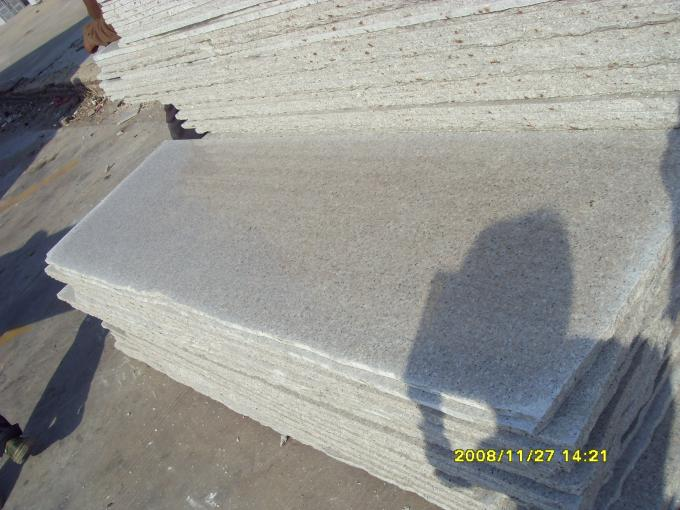 High Load Bearing Capacity Granite Stone Slabs , G681 Granite Stone Floor Tiles Shrimp Color