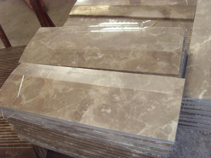 Decorative Kitchen Marble Tiles , Indoor Marble Stone Tile Soft Texture