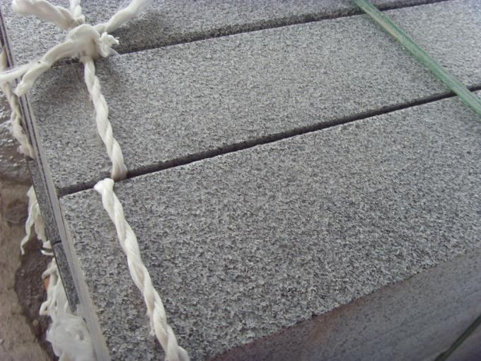 Grey Granite G654 Curved Block Paving Kerbs , Block Paving Edging Kerb Stones