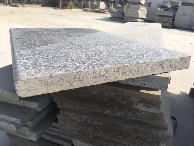 Pearl Flower Polished Granite Stair Treads Grey White G383 120 X 33 X 3cm​​
