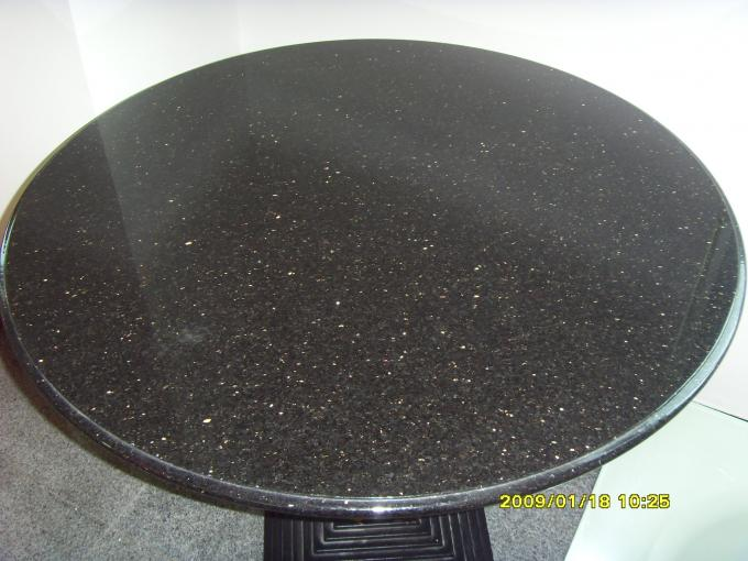 Blue Pearl Black Galaxy Countertop , High Gloss Granite And Stone Countertops