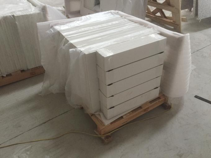 Decorative Quartz Stone Slab 20mm / 30mm Thickness For Bathroom Vanity Top