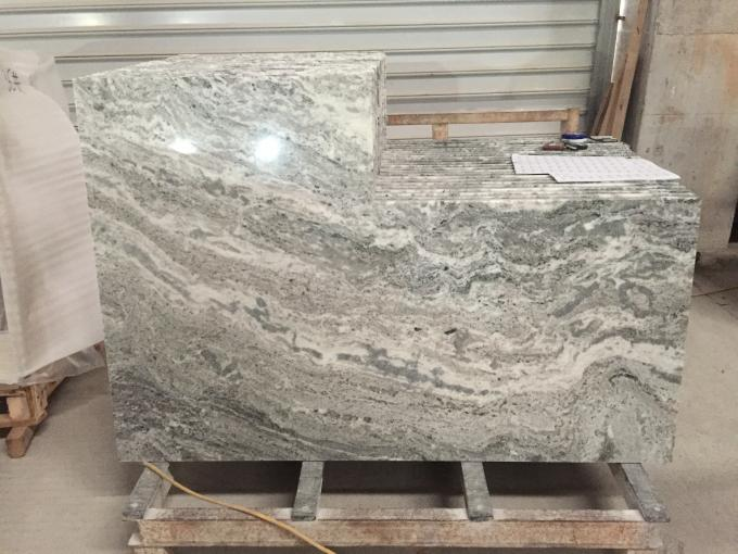 Green Marble Stone Countertops Corrosion Resistant Environmentally Friendly