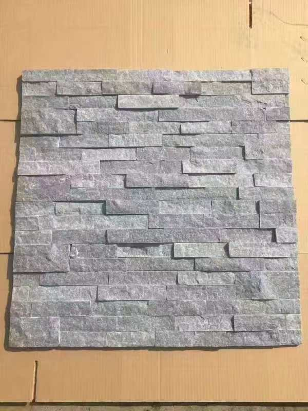 Small Natural Slate Stone Marble Culture Stone Sawn Cut Split Grey Multi Color