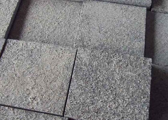 China G654 Granite Paving Slabs Elegant Paving Brick High Durability 10 X 10 X 10cm factory