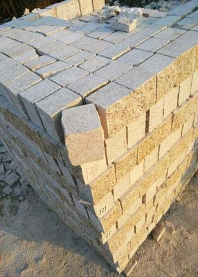 China Various Sizes Yellow Granite Paving Slabs , G682 Stone Paving Slabs factory
