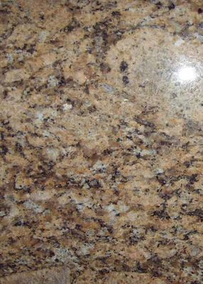 China Gialla Veneziano Yellow Granite Stone Tiles , Natural Granite Floor Tiles Good Weather Tolerance factory